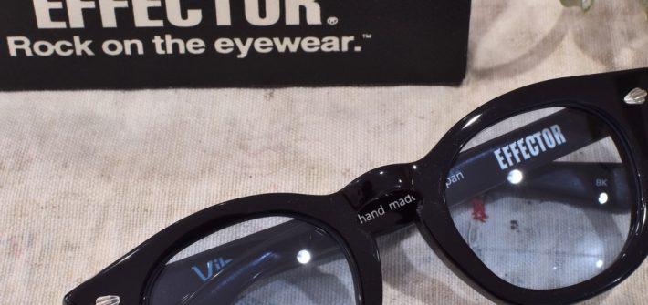 EFFECTOR エフェクター BOSS Vibrato 黒縁 福岡の眼鏡店 北九州 メガネ男子 眼鏡女子