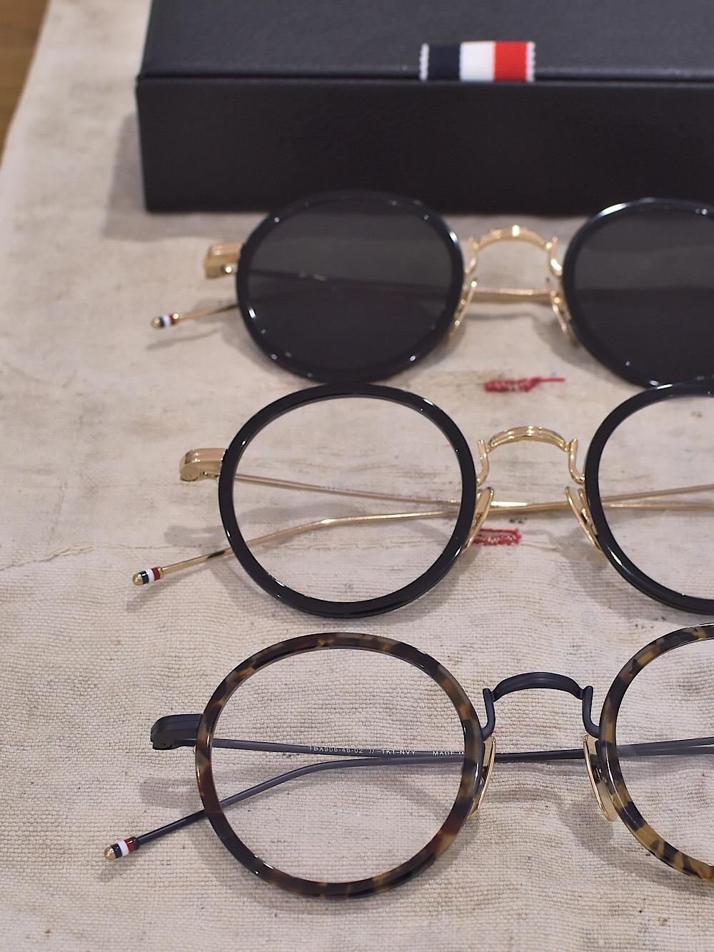 THOM BROWNE. トムブラウン TB-906 コンビネーション ラウンドシェイプ 福岡の眼鏡店 北九州 メガネ男子 眼鏡女子