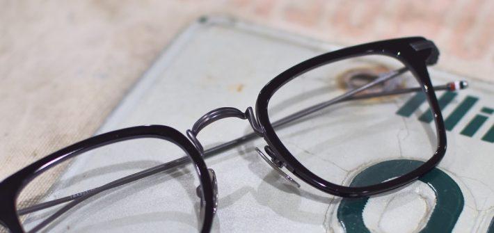 THOM BROWNE. トムブラウン TB-905 コンビネーション ウェリントン 福岡の眼鏡店 北九州 メガネ男子 眼鏡女子