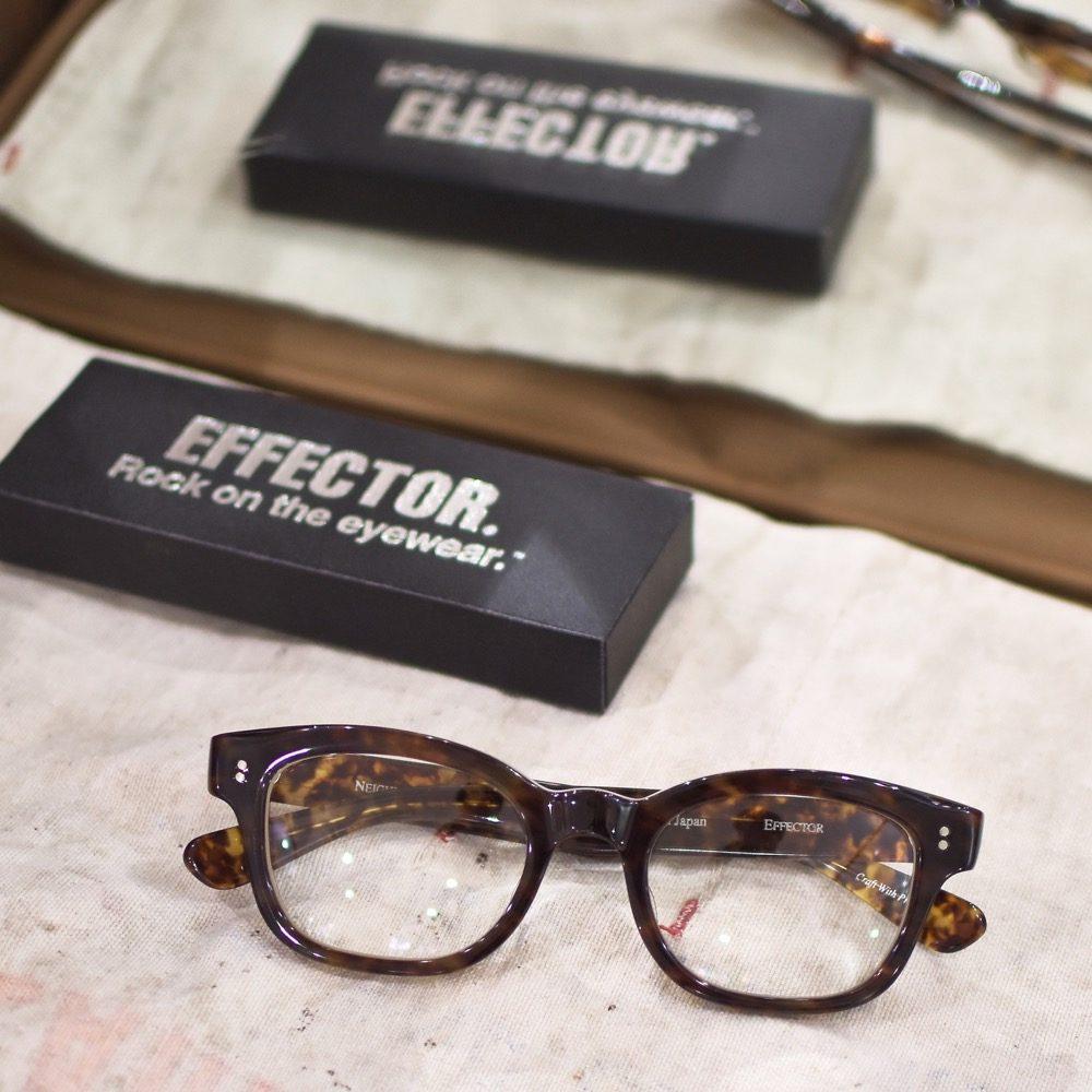EFFECTOR エフェクター ネイバーフッド BIG TRAMP 黒縁 福岡の眼鏡店 北九州 メガネ男子 眼鏡女子