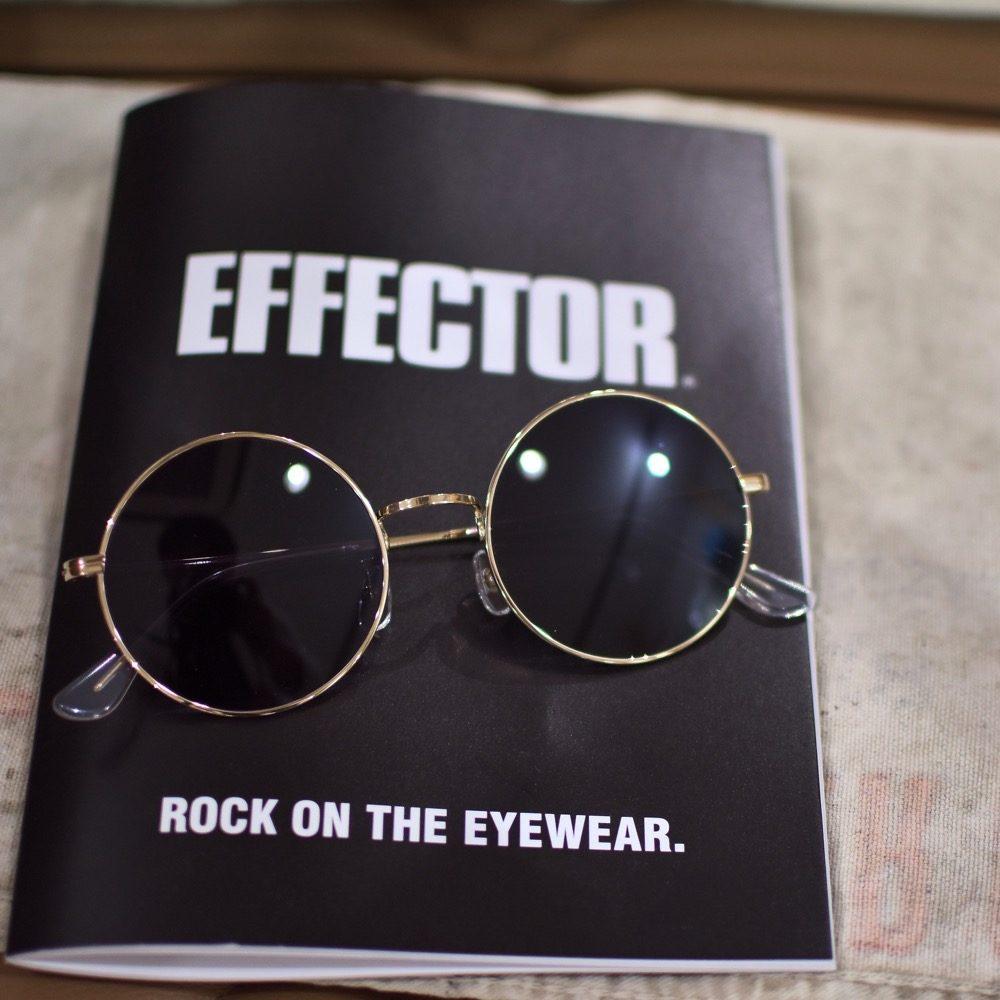 EFFECTOR エフェクター 松田優作 YUSAKU3 サングラス ラウンド 福岡の眼鏡店 北九州 メガネ男子 眼鏡女子