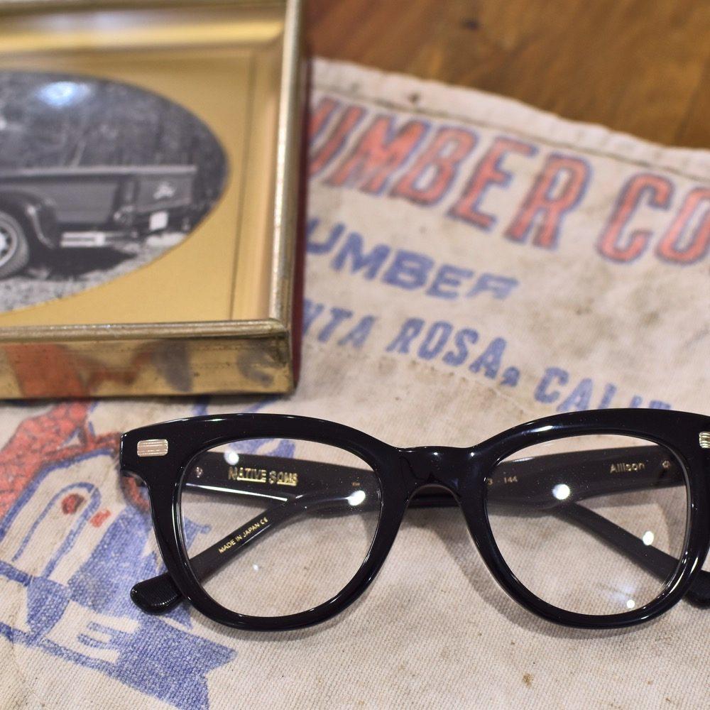 NATIVE SONS ネイティブサンズ ALLISON メガネ 眼鏡 アメリカ 日本製 ウェリントン