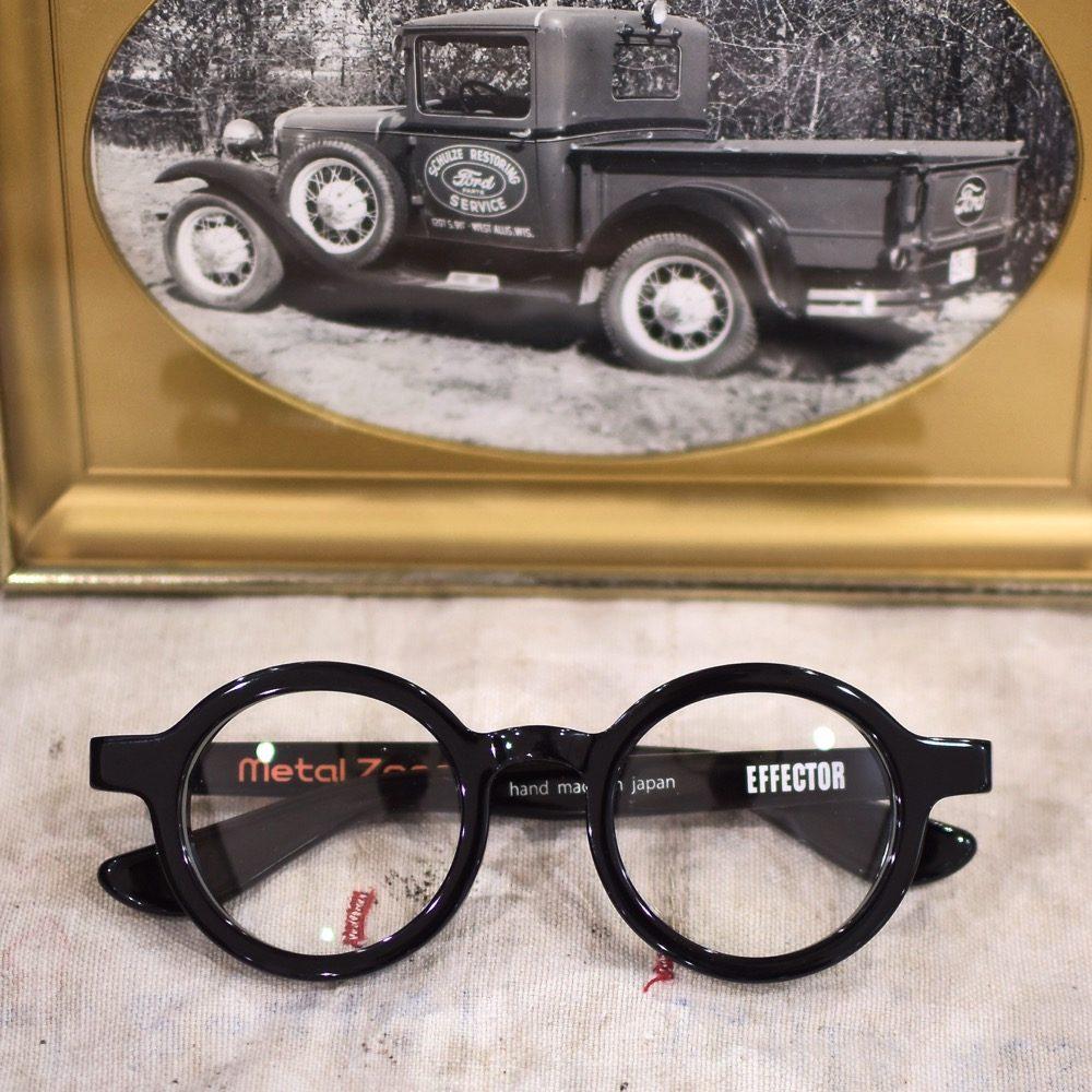 EFFECTOR エフェクター BOSS Metal zone 黒縁 福岡の眼鏡店 北九州 メガネ男子 眼鏡女子