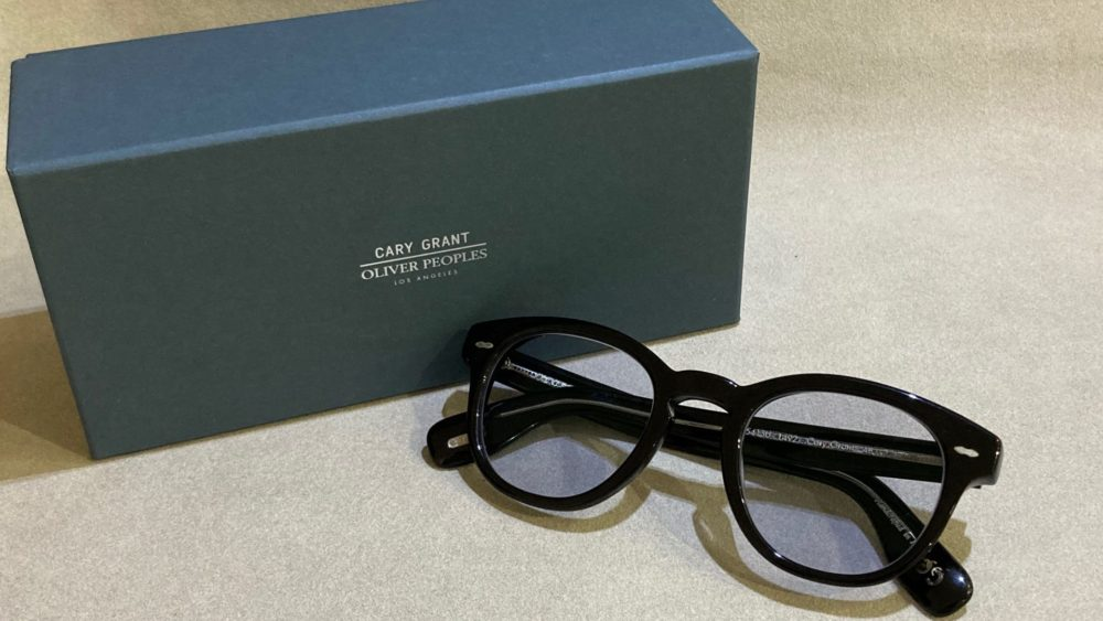 OLIVER PEOPLES CARY GRANT 入荷